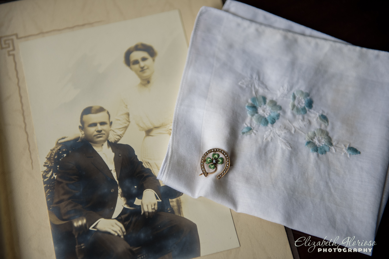 Wedding heirloom pin Cleveland Ohio