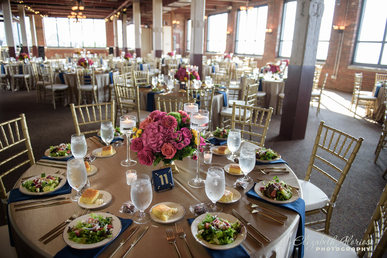 Wedding reception at Ariel International Cleveland Ohio