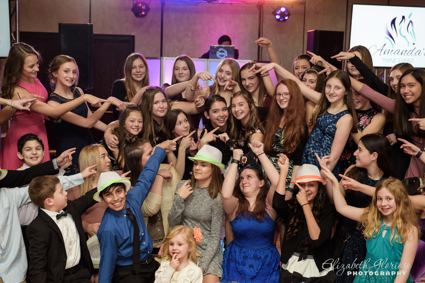 kids photo mitzvah party Cleveland Ohio