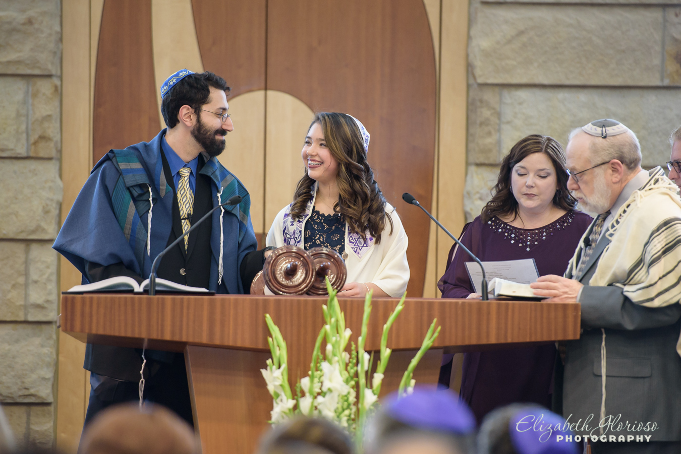 Bat Mitzvah service Orange Village Ohio