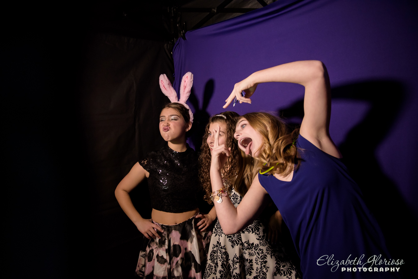 Bat Mitzvah photo booth Bertram Aurora Ohio