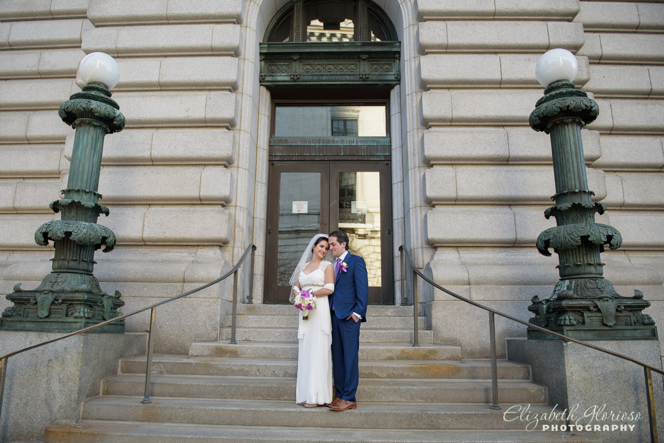 Bride and Groom Cleveland Public Library